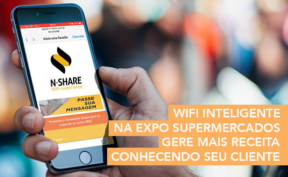 Expo Supermercados terá WiFi inteligente