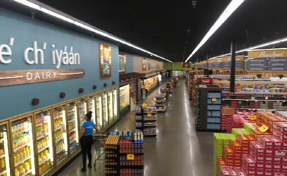 Vídeo Tour: Supermercado Bashas' Diné Market. Arizona nos Estados Unidos